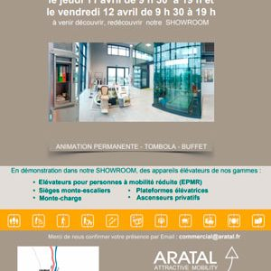 Portes ouvertes Aratal Attractive Mobility avril 2019